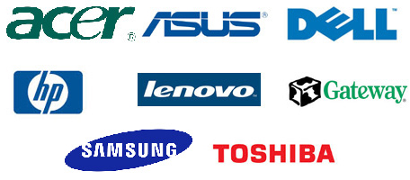 Seattle Laptop repairs Acer, Asus, Dell, HP, Lenovo, Gateway, Samsung, Toshiba and Apple Laptops