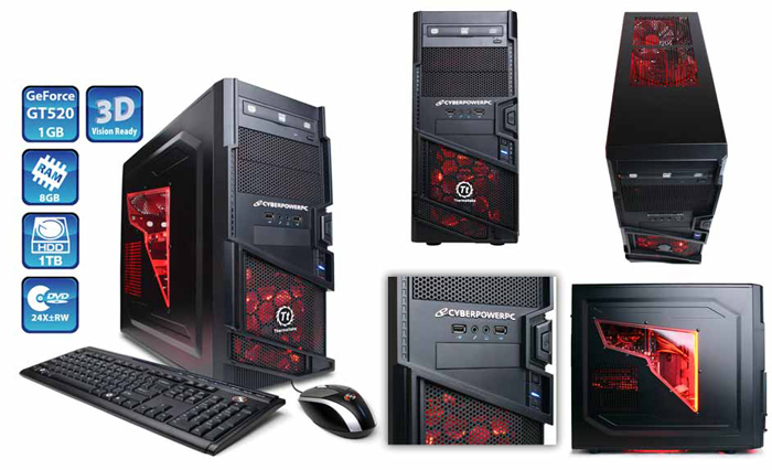 Cyberpower Custom Gaming Desktop Repair